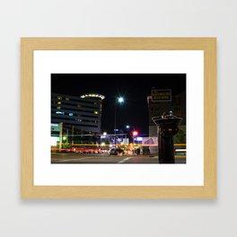 Nightlife by Logan Decker Framed Art Print