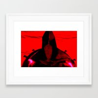gladiator Framed Art Prints featuring Gladiator by Time After Time