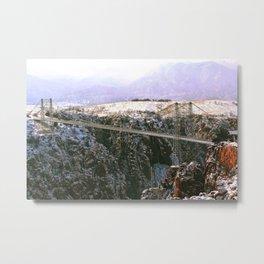 Bridge, Royal Gorge Metal Print