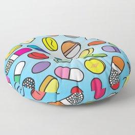 Drugs n Pills Floor Pillow