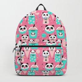 Panda Candy Shop Pink Backpack