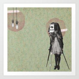 Feminine Collage II Art Print