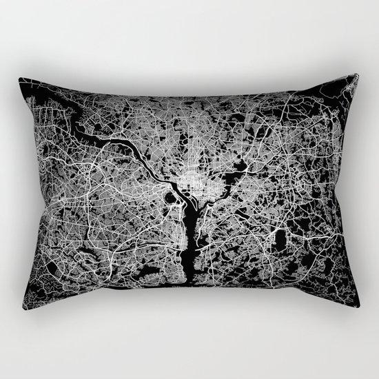 washington map Rectangular Pillow