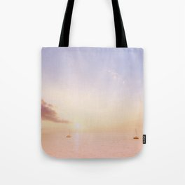 Sailing On The Seas Tote Bag