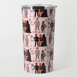 Good Omens Repeat Pattern #3 Travel Mug