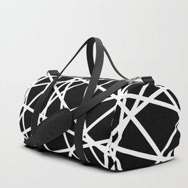 Lazer Dance B&W 1 Duffle Bag