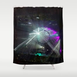 Rock Concert Shower Curtain