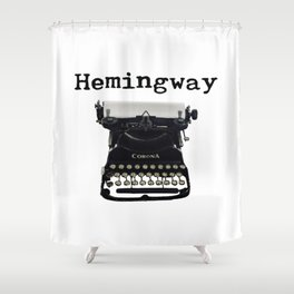 Hemingway Shower Curtain