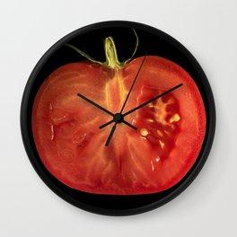 You say tomato I say tomato Wall Clock