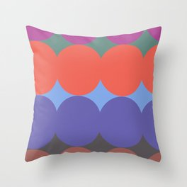 ALMA POP - Mid Century Modern Pattern Graphic Design Throw Pillow