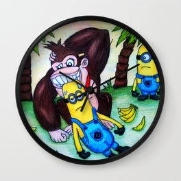 Donkey Kong's confusion Wall Clock