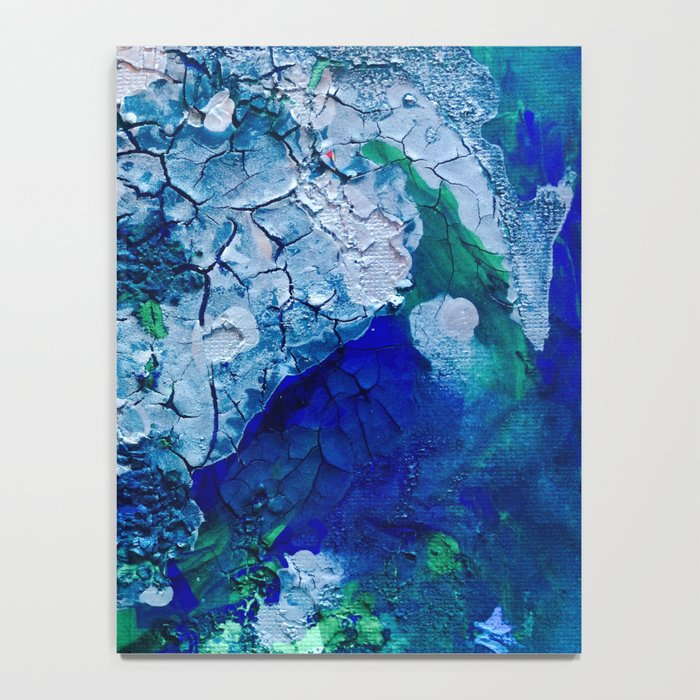 Imagined Ocean View From Above Notebook