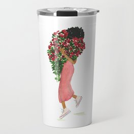 Flower Girl (Un) Travel Mug