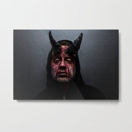 DJ Punk Demon Metal Print