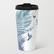 Fly Away Metal Travel Mug
