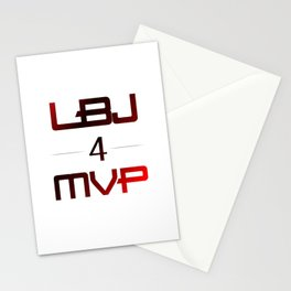 LBJ MVP Stationery Cards