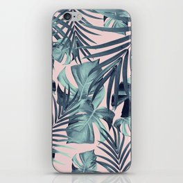 Tropical Jungle Leaves Pattern #8 #tropical #decor #art #society6 iPhone Skin