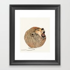Unravel Me Framed Art Print