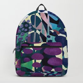 Blue Aliums Backpack