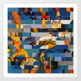 Shiver Me Ikea Timbers (Provenance Series) Art Print