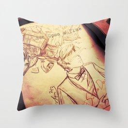 #SaveTheDay Sketches - The Era Eleven Throw Pillow