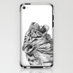 White Tiger Profile iPhone & iPod Skin