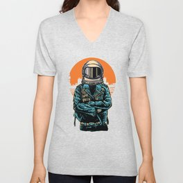 Rebel Astronout Unisex V-Neck