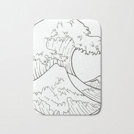 The wave of Kanagawa Bath Mat