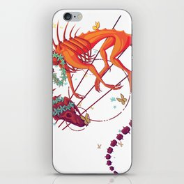 Floral Phantom iPhone Skin