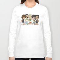 1d Long Sleeve T-shirts featuring Sleepy 1D by Ashley R. Guillory