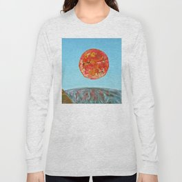 Calm Before the Storm: the four elements. Long Sleeve T-shirt