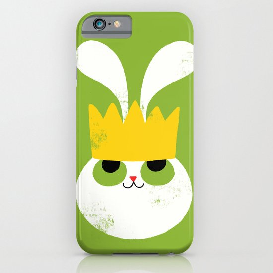 Rabbit King iPhone & iPod Case