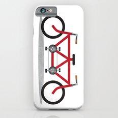 Broken Teamwork Tandem Bicycle Slim Case iPhone 6s