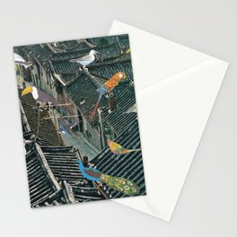 Bird Town Stationery Cards