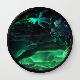 Soulstealer Vayne League Of Legends Wall Clock