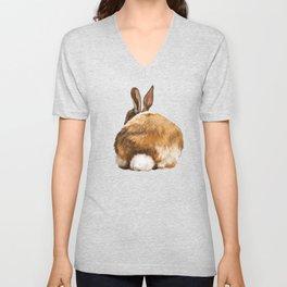 Rabbit Butt Unisex V-Neck