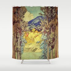Returning to Hoyi Shower Curtain