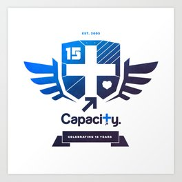 Capacity 15th Anniversary Emblem Art Print