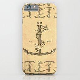 Aldus Manutius Printer Mark iPhone Case