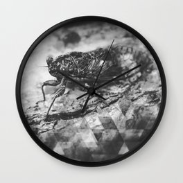 lurking in the trees Wall Clock