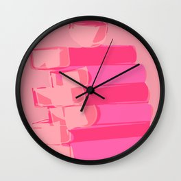 Caffeinated Book Wall Clock