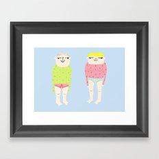 Koko Framed Art Print
