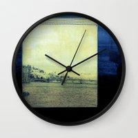 bridge Wall Clocks featuring Bridge by Neelie