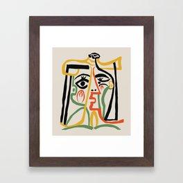Picasso - Woman's head #1 Gerahmter Kunstdruck