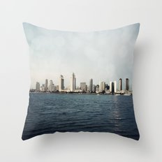San Diego  Throw Pillow