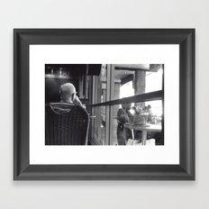 Dopplegangers Framed Art Print