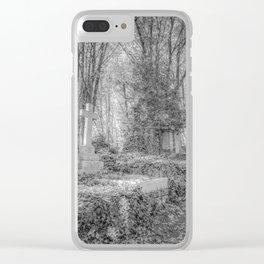 Highgate Cemetery London Clear iPhone Case