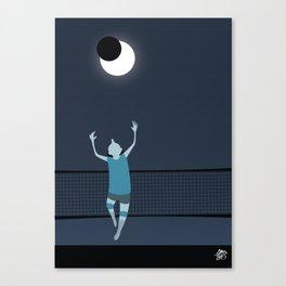 Moon Riser Canvas Print
