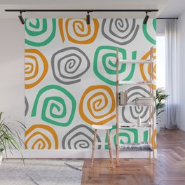 Snail Party Wall Mural