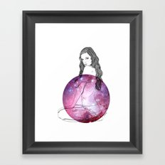 We Are All Made of Stardust #3 Framed Art Print